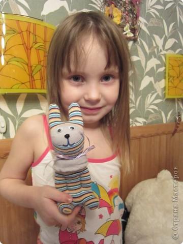 Спасибо Ольге за таких зайчат. Мы их тоже полюбили. фото 2