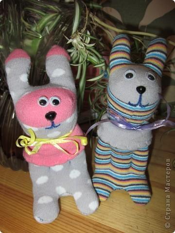 Спасибо Ольге за таких зайчат. Мы их тоже полюбили. фото 1