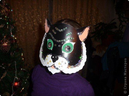 Маску сделала для дочки на школьную вечеринку. фото 2