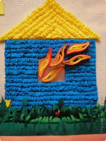 У нас в школе объявили конкурс работ по пожарной безопасности. Вот что сотворили мы с дочкой. Вариант седьмой и окончательный)))).  Идеи подсмотрели здесь: домик в огне http://stranamasterov.ru/node/107334?c=favorite , пожарный http://stranamasterov.ru/node/120684?c=favorite , дерево http://stranamasterov.ru/node/99973?c=favorite. Огромное спасибо мастерицам! фото 4