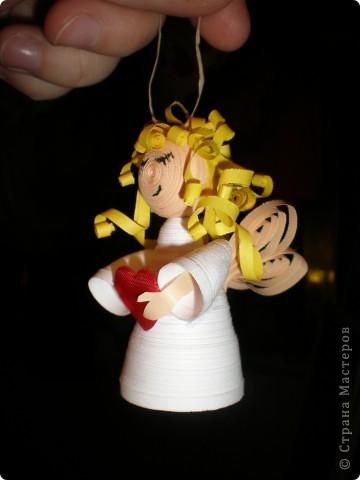 Вот он моя симпотяжка) Перед Новым годом за неделю - звонит тётка вечером и говорит: -Юлях срочно нужны ёлочные игрушки ручной работы, доче в садик.... -Когда?   ...-На завтра.... =) Вот так эта милая мордашка и родилась. В большом спехе) фото 3
