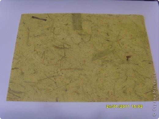 Наконец то  банановой бумаге нашлось применение. Года три назад купила по случаю, но никак не могла придумать куда её использовать...  фото 4