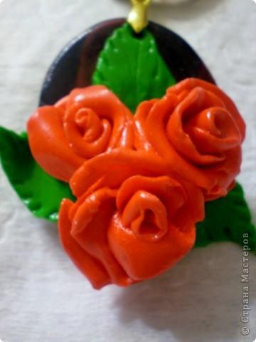 Это мои украшения из полимерной глины. фото 3