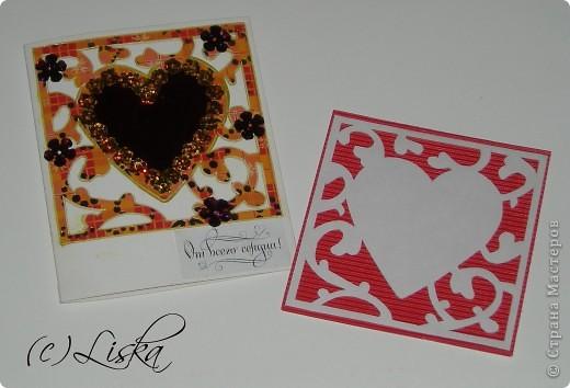 СКРАПБУКИНГ.... мини-валентинки фото 1