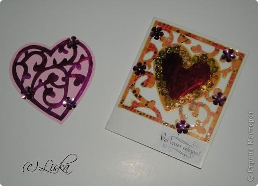 СКРАПБУКИНГ.... мини-валентинки фото 2