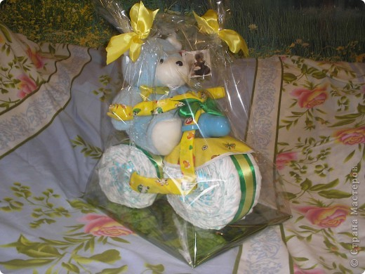 Делала как подарок на крестины,маме малыша очень понравился. фото 2