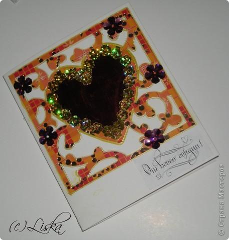 СКРАПБУКИНГ.... мини-валентинки фото 4
