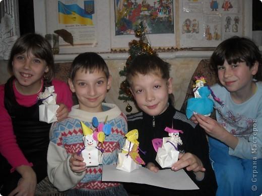 Снежная сказка про Снеговичков. фото 13