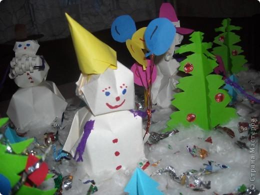 Снежная сказка про Снеговичков. фото 5