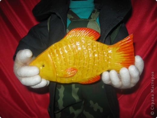 Очередной рыбак в подарок. фото 2
