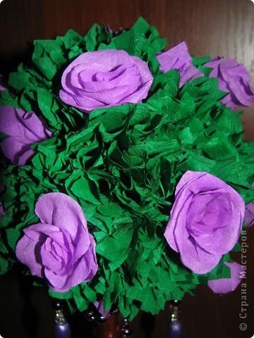 Сиреневые розы фото 2