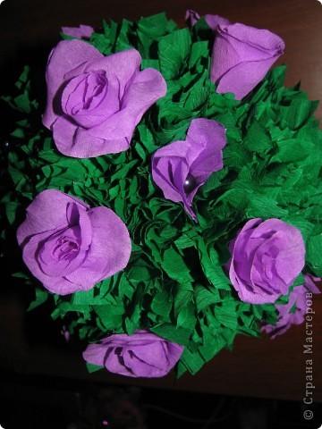 Сиреневые розы фото 3