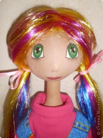 Решила поменять ей волосы. Так милее показалось. фото 4