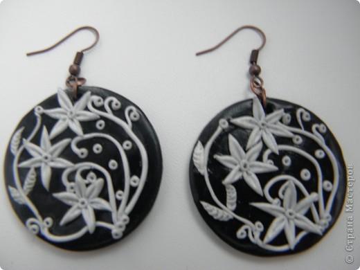 Это мои украшения из полимерной глины. фото 4
