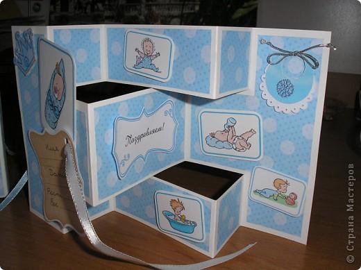 Это коробочка-упаковочка для открытки фото 5