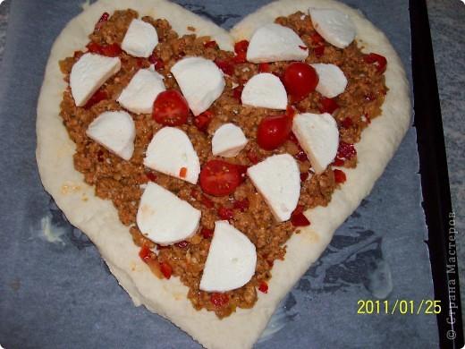 Пицца...Валентинка... фото 10
