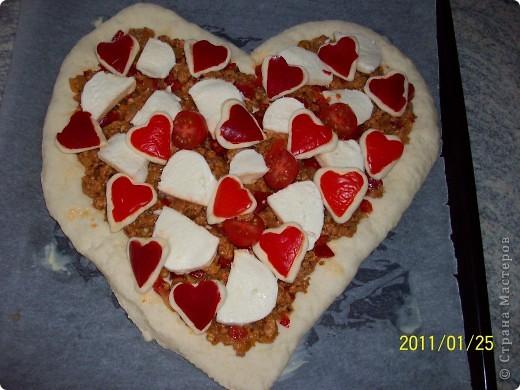 Пицца...Валентинка... фото 11