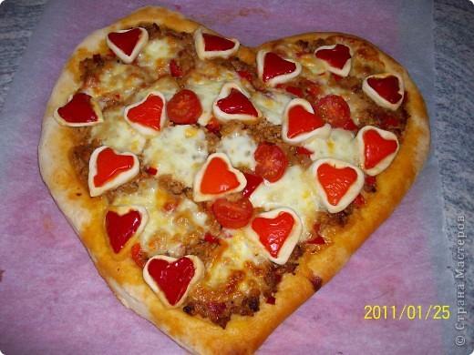 Пицца...Валентинка... фото 12
