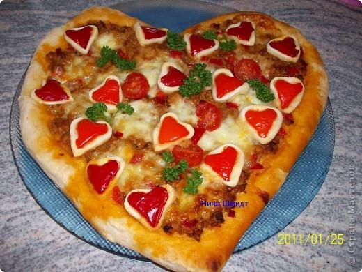 Пицца...Валентинка... фото 13
