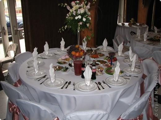 оформление стола на свадьбе фото 1