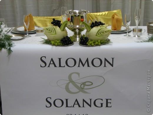оформление стола на свадьбе фото 7