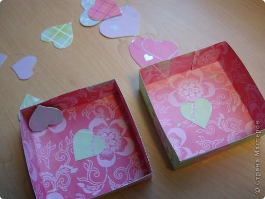 Существуют такие коробочки, которые открываешь и из них вылетают бабочки.А у меня сердечки, конечно не вылетают, но все же... фото 10