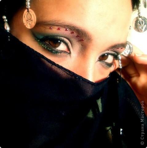 Восточный макияж (стиль) фото 2
