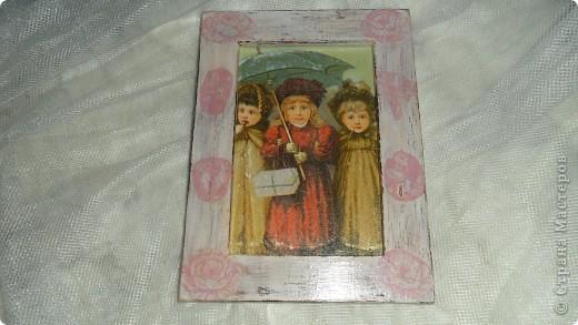 зеркало на деревянной основе фото 2