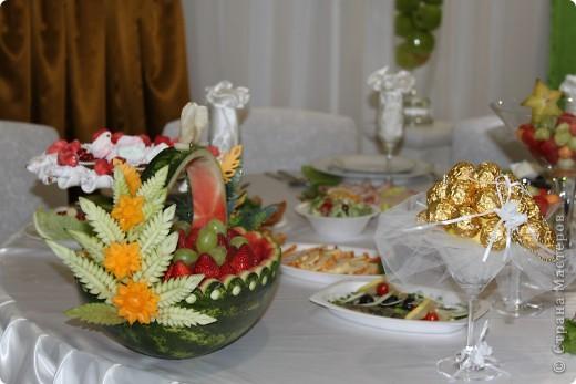 оформление стола на свадьбе фото 8
