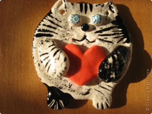 Рыжий кот на день Святого Валентина. фото 2