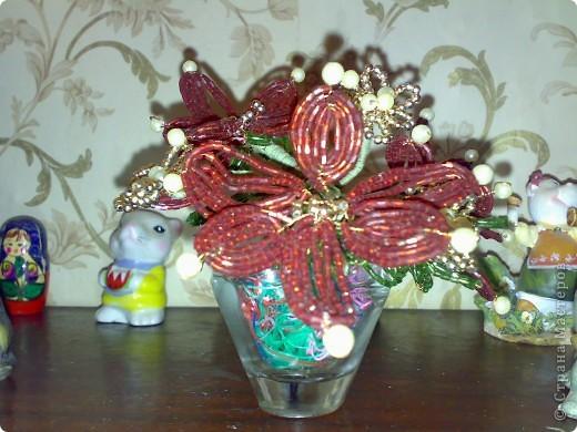 цветочки в вазе фото 4