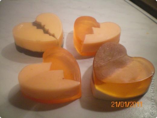 объемное сердечко в большом объемном сердце с глиттером фото 4