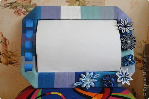 Рамочка -канзаши 2 фото 1
