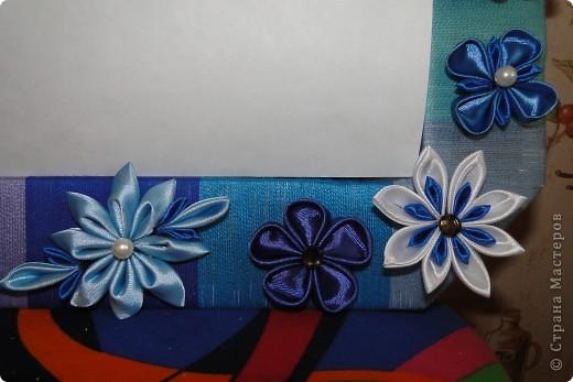 Рамочка -канзаши 2 фото 2