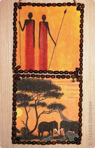 избитая тема Африки, в моей коллекции тоже прибавилась такая работа фото 1