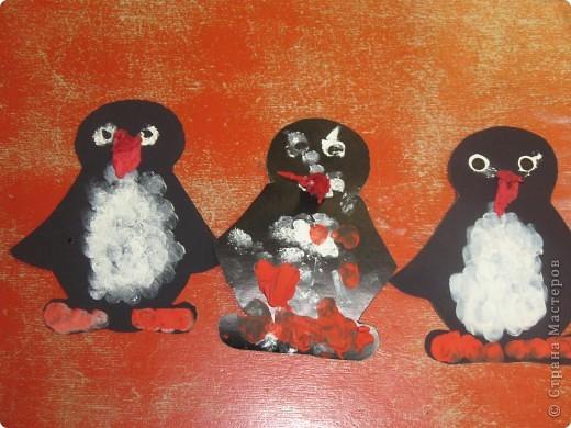 пингвин у елки фото 3