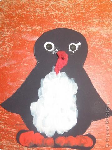 пингвин у елки фото 2