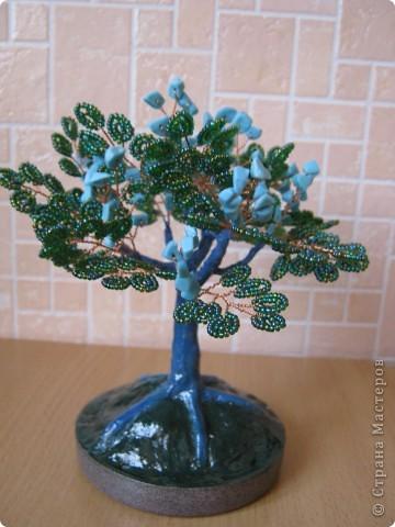 Бирюзовое деревце