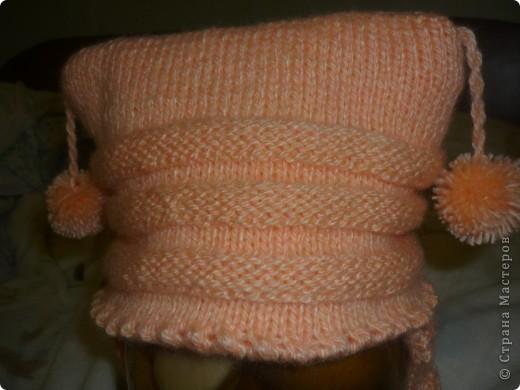 шапочка для дочки