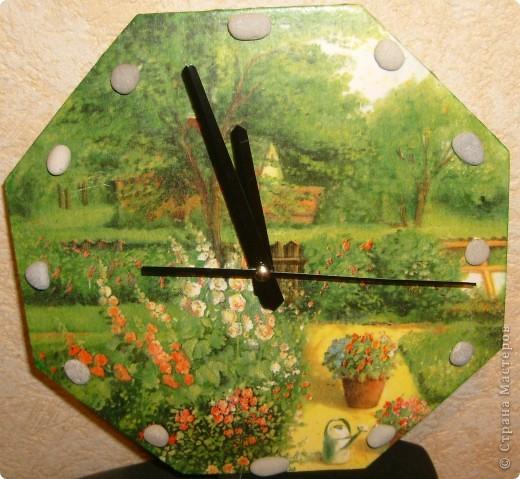"Часы ""Летний сад"" фото 1"