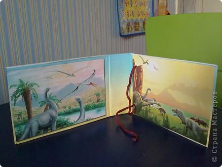 Моего сына заинтересовали динозавры (попался в киндере и посыпалось кучу вопросов))). Я решила поддержать пыл.. Сделала карточки, с одной стороны картинка, с другой - информация о нем. Выдавала по одной в день, вижу понравилось, значит нужно еще сделать)))  Изучение истории нужно начинать с семейного архива и с динозавров, вот наши первые шаги)) фото 3