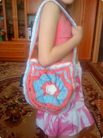 сумка-цветок