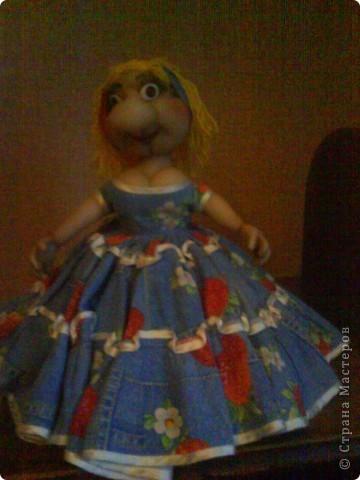 Кукла на чайник Варвара-краса. фото 1