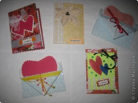 Сегодня я к Вам с открытками.  Эти открытки мы делали на занятии с детьми... фото 2