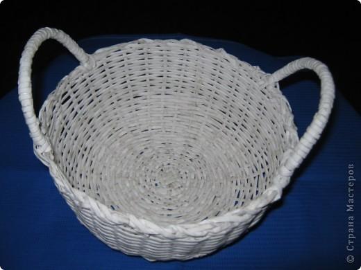 корзинка плетеная фото 1