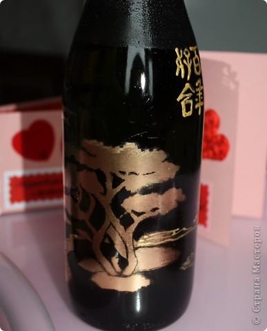 На создание данной бутылочки вдохновили  работы Олеси Ф.  фото 5