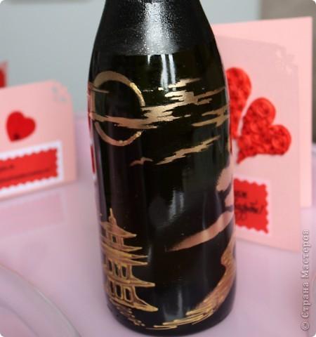 На создание данной бутылочки вдохновили  работы Олеси Ф.  фото 3