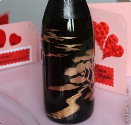 На создание данной бутылочки вдохновили  работы Олеси Ф.  фото 4