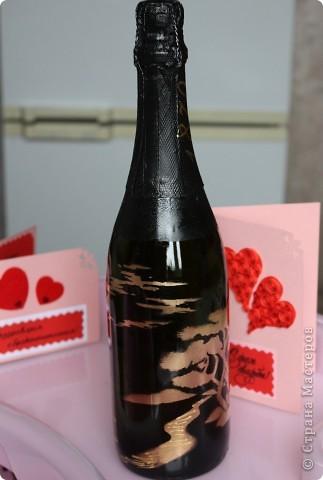 На создание данной бутылочки вдохновили  работы Олеси Ф.  фото 1