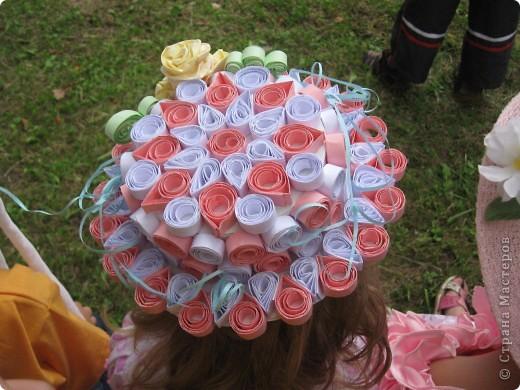 Эти шляпки я делала девочкам в садик на конкурс шляпок . фото 1